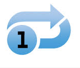 an example of a repeat-1 button