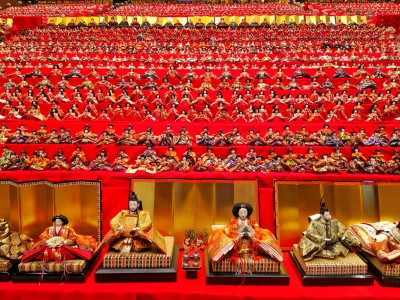 traditional girls Hina figure fest. nearby my home.